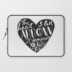Heart is an Arrow - Six of Crows design Laptop Sleeve