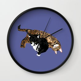 Nemo and Roxy Wall Clock