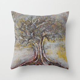 Ancient Wisdom Throw Pillow