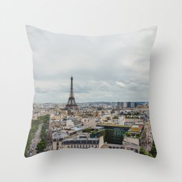 Romance city Throw Pillow