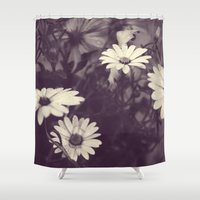 perfume Shower Curtains featuring Like Perfume by Lina Forrester