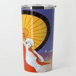 Ostend Queen of beaches jazz age Travel Mug