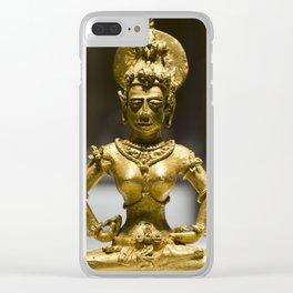 Agusan Gold Image Clear iPhone Case