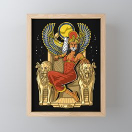 Egyptian Goddess Sekhmet Framed Mini Art Print