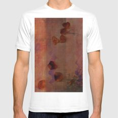Landscape MEDIUM Mens Fitted Tee White