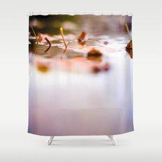 Leaf Reflect Shower Curtain