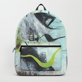 Tangled - Square Abstract Expressionism Backpack