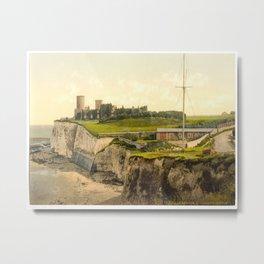 Vintage Photo-Print of Kingsgate Castle (1900) Metal Print