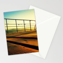 sunrise on the deck Stationery Cards