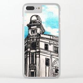 Philippines : Regina Building Clear iPhone Case