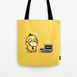Psyduck in real life Tote Bag