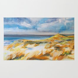 The Dunes in Ostend Rug