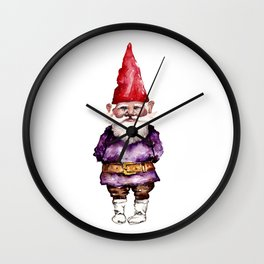 Alfred the Gnome Wall Clock