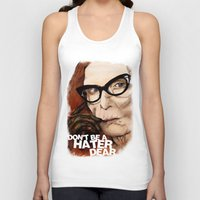 coven Tank Tops featuring Myrtle Snow || Don't be a hater, dear (from American Horror Story: Coven) by PandaToyz