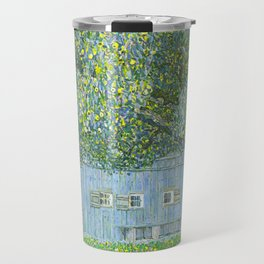 Klimt - Farmhouse in Upper Austria (new editing) Travel Mug