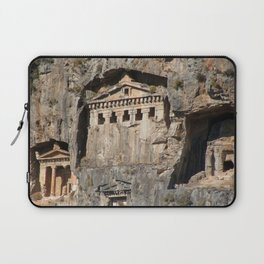 Lycian Tombs Cut From Rock Circa 400 BC Laptop Sleeve