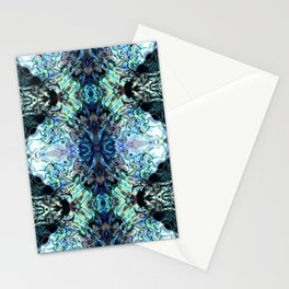Paua Shell  Inspired Pattern Stationery Cards