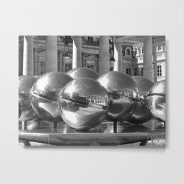 Les Fontaines Spherades Metal Print