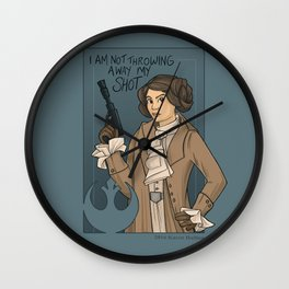 She's Young, Scrappy, and Hungry. Wall Clock
