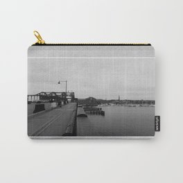 Across The World From Me Carry-All Pouch