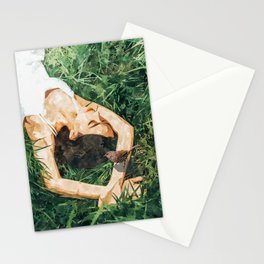 Jungle Vacay #painting #portrait Stationery Cards