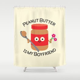 Don't Be Jelly Shower Curtain