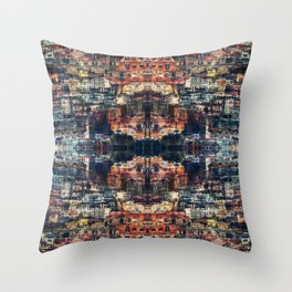 UNTITLED ⁜ ALIGNED #0413 Throw Pillow
