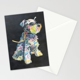 Miniature Schnauzer Stationery Cards