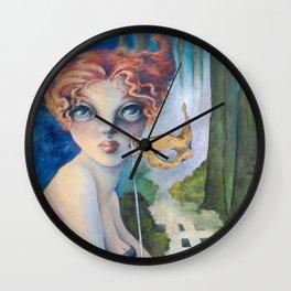 The Masquerade, Lucia Wall Clock