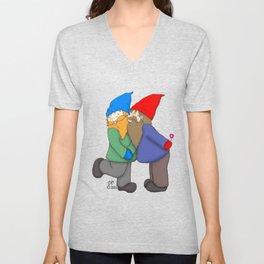 Gnomes In Love Unisex V-Neck