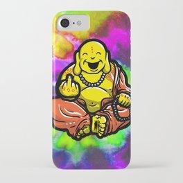 F U Buddha iPhone Case