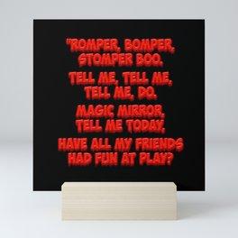 romper stompa boo Mini Art Print