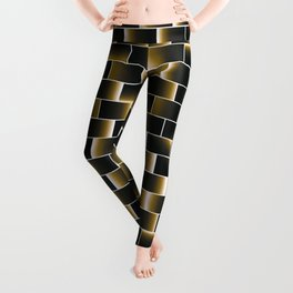 Golden set of tiles Leggings