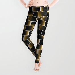Golden set of tiles Leggings