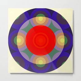Olloudius - Colorful Abstract Art Metal Print
