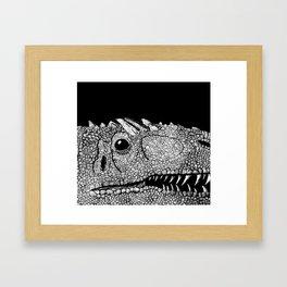 Allosaurus Fragilis Framed Art Print