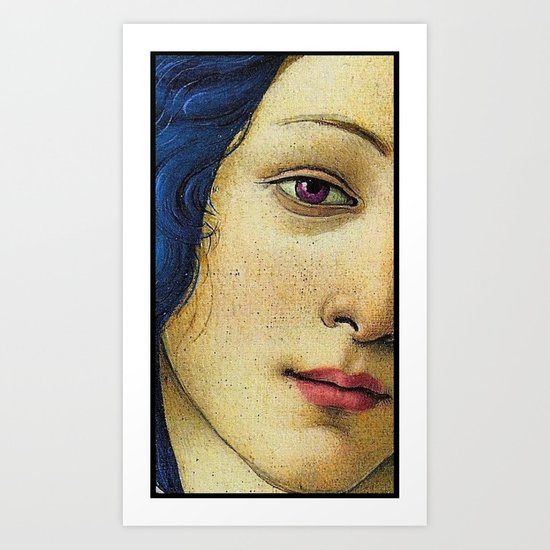 Of august gold-wreathed and beautiful. Art Print