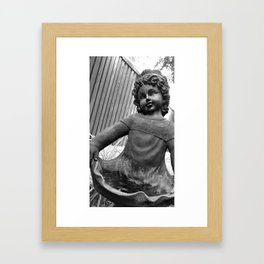 Faded Grace Framed Art Print