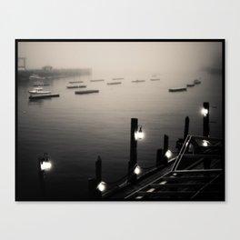 Camden Harbor, Maine Canvas Print