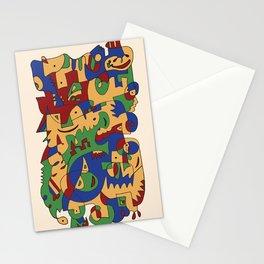 Saturday Jam - Jazz album Stationery Cards