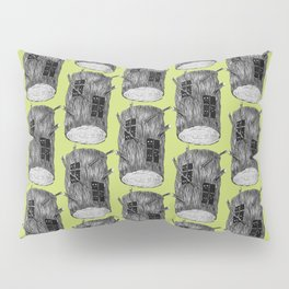 Mysterious Forest Creatures In Tree Log Pillow Sham