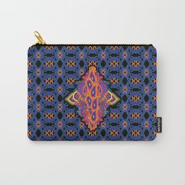 Indian Embroidery Carry-All Pouch