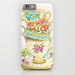 Tea Party iPhone Case