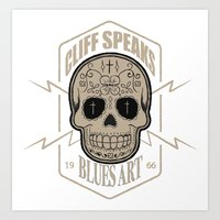 Cliff Speaks Blues Art Art Print