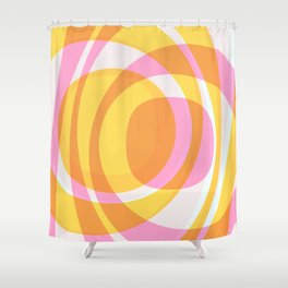 Summertime happiness Shower Curtain