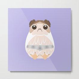 Porg Leia, Leia Porgana, Princess Leia, Leia Solo, General Organa, The Last Jedi Metal Print