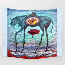 """""""BEAUTY IS IN THE EYE OF THE BEHOLDER"""" Wall Tapestry"""