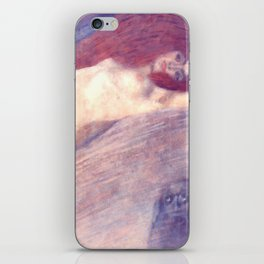 "Gustav Klimt ""Bewegtes Wasser (Moving Water)"" iPhone Skin"