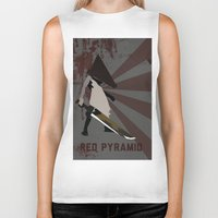 silent hill Biker Tanks featuring Pyramid Head - Silent Hill by BatSpats