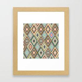 rombus 4 Framed Art Print
